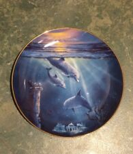 Franklin Mint Limited Edition Collectors Plate - Legend Of The Dolphin