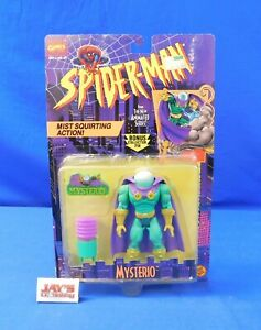 Mysterio Figure Spider-Man The Animated Series 1995 ToyBiz New on Card