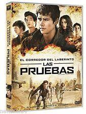 EL CORREDOR DEL LABERINTO LAS PRUEBAS DVD NUEVO ( SIN ABRIR )