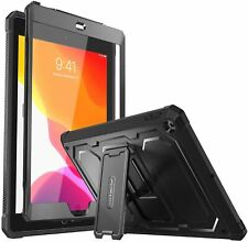 For iPad 10.2 7th 2019 Shockproof Case Bumper Kickstand Cover w Screen Protector