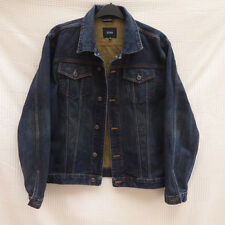 Linea distressed style long sleeve denim style jacket Size XL