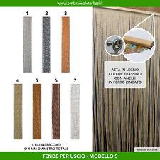 Tenda a fili in pvc glitter da uscio porta finestra moschiera antimosche insetti