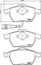 Mintex MDB2041 C2C22316/M Rear Brake Pad Set Jaguar XJ8 2003