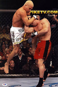 Tito Ortiz SIGNED 12x18 Photo UFC MMA POSTER PSA/DNA AUTOGRAPHED