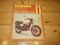 Haynes Manual for Yamaha 250 & 350 Twins. 1970-1979.