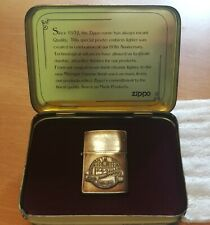 Zippo lighter 60th Anniversary 1932 - 1992 Ltd Edition in TIN