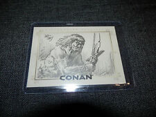 2003 Rittenhouse Archives Conan Sketch Card