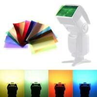 Universal Speedlite 12pcs Color Filter Kit For Nikon Canon Godox Flash K0T1