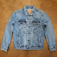 Levi's Trucker Jacket Blue Stonewash Men's Size Small