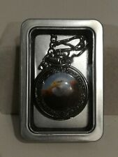 Bald Eagle Pocket Watch, New in tin