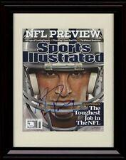 Framed Tony Romo Sports Illustrated Autograph Replica Print