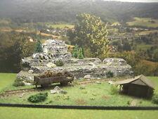 Waggon gerostet Kabeltrommeln verrostet Modellbau Landschaftsbau Diorama H0 1:87