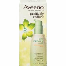 Aveeno Positively Radiant Daily Facial Moisturizer Broad Spectrum SPF 30 2.5 Oz