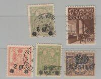 Poland Postal Local or  Fiscal Revenue stamp 6-21-