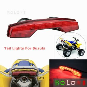 1pc Red Lens Rear LED Taillights Brake Running Lamp Assembly For Suzuki LTR450