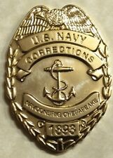 Naval Consolidated Brig Chesepeake Virginia Chiefs Mess Navy Challenge Coin