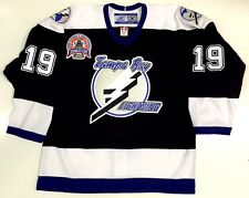 BRAD RICHARDS 2004 STANLEY CUP TAMPA BAY LIGHTNING REEBOK AUTHENTIC JERSEY 52