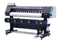 "1520mm 60"" Large Format Printer ECO Solvent +RIP,Wide Banners Vinyls Sublimation"