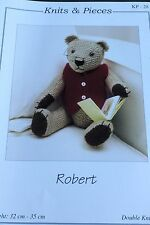 Knits and Pieces Robert Bear Knitting pattern KP28