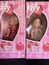 Barbie Kelly Club Doll Hearts and Kisses Valentine Set New 2004 angel Cupid NEW