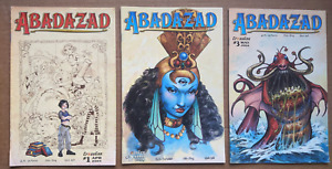 Abadazad #1, 2, 3 HIGH GRADE Ploog art (3 comics)