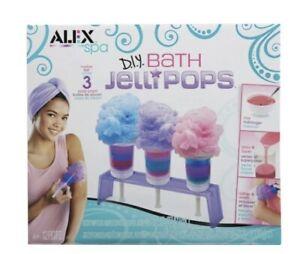 New - ALEX Toys ALEX Spa - DIY Bath Jelli Pops - Ages 6+ | 1 player
