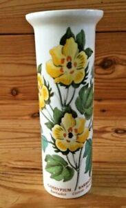 Vintage Portmeirion Botanic Garden Cotton Flower Cylinder Spill Pot Vase