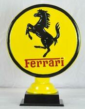More details for large ferrari sign - desktop display piece - painted aluminium - 50cm high