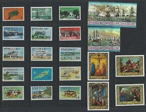 G742 Anguilla / A Small Collection Early & Modern Lhm