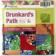 """Matildas Own Drunkards Path 4.25"""" Set"""