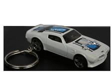 Custom Key Chain '70 Pontiac Firebird white