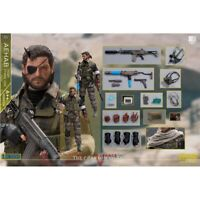 Pre-order 1/12 LIMTOYS LIMINI A++ Metal Gear Solid Snake Tiger Stripe 6IN Figure