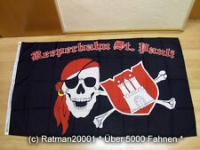 Fahnen Flagge Hamburg St.Pauli Reeperbahn Fan - 90 x150 cm