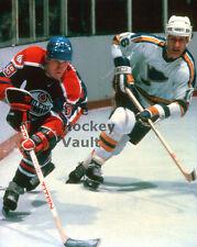 WAYNE GRETZKY Edmonton OILERS SI Cover SHOT vs St. Louis BLUES Custom LAB 8X10!!