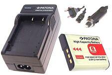 Ladegerät / Akku-Ladegerät und AKKU / Batterie für Sony CyberShot DSC-H10