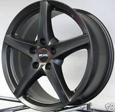 4 Alufelgen Audi A4 A6 Q3 VW Touran Eos Tiguan Scirocco Sharan Ronal R41 schwarz