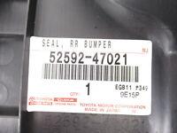Genuine OEM Toyota 52592-47021 Driver Rear Bumper Side Seal 2010-2015 Prius