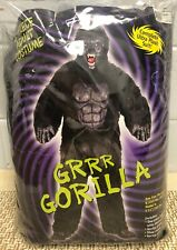 6 Piece Adult GRRR Gorilla Ultra Plush Suit Costume Mascot Size Adult NEW!!