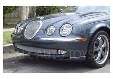 Jaguar S-Type Upper Mesh Grille Insert Style Chrome or Black 1999-2004 models