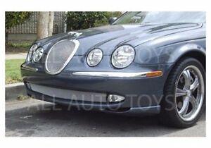 Mesh Grille Insert Jaguar S-type 1999 - 2004 Bright Chrome or Black Inner Grille