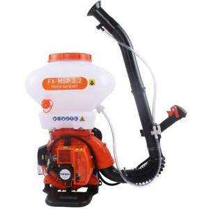 FUXTEC chemical backpack sprayer with 2.95HP petrol engine and 26L capacity