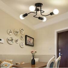 4/6/8 Way Vintage Retro Chandelier Ceiling Pendant Light E27 Industrial Lamps UK