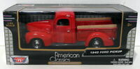 Motor Max 1/24 Scale Diecast 73200AC - 1940 Ford Pickup - Red