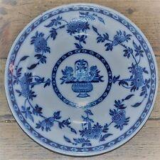 "Minton Delft 9"" Plate Antique Victorian Pottery 1880s"