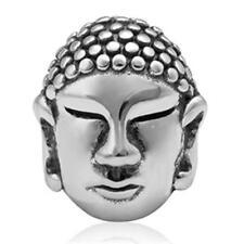 NEW 925 Sterling Silver European Bracelet Charm Bead Buddha Religion