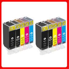 10 XL Ink Cartridges For Canon MP560 MP620 MP630 MP640 MP980 MP990 MX860 MX870