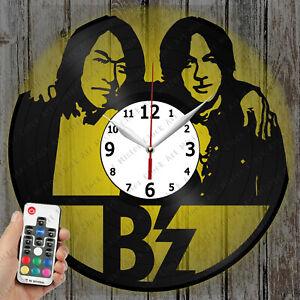 LED Clock B'z Vinyl Record Clock Art Decor Original Gift 4249