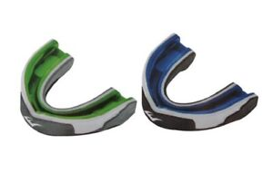 Everlast Evergel Single Mouthguard Boxing MMA Sparring One Size Blue Green