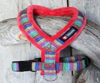 Soft FleeceDog Harness Size 45 ,Staffy, English Bull Terrier Red New