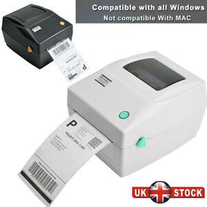 150x100mm 4x6 Direct Thermal Printer Shipping Label Maker USB Barcode Printer UK
